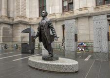 Octavius Valentine Catto Memorial, Stadhuis, Philadephia Stock Foto