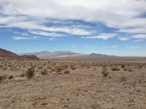 Octillo Wells Desert in California Royalty Free Stock Images