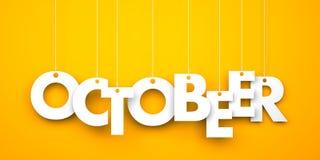 OctoBEER. Octoberfest metaphor Stock Photography