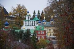 Free October At The Holy Dormition Pskovo-Pechersky Monastery. Pskov Region Stock Images - 71108474