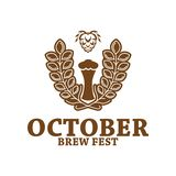 October Brew Fest Badge. Can be used for October Brew Fest Symbol royalty free illustration
