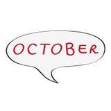 October bubble Stock Photo