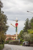 October 11,2016; Collodi, Italy; highest wooden Pinocchio in the world in Collodi, Tuscany Stock Photo