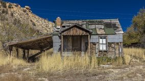 Deserted home Utah royalty free stock photos