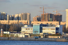 October Embankment in Petersburg Royalty Free Stock Photography