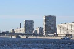 October Embankment in St. Petersburg. Stock Photography