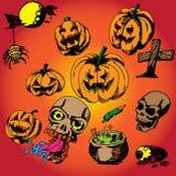 31 October Halloween vector design background. October Halloween vector design background Royalty Free Stock Photos