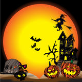 31 October Halloween vector icon design background. October Halloween vector icon design background Stock Image