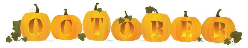 Free October Heading Royalty Free Stock Photos - 20942218