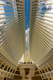 OCTOBER 24, 2016, Interior of  Oculus Building, .main hall of the new Oculus, the World Trade Center Transportation Hub,  Lower Ma Royalty Free Stock Image