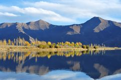 In October Lhasa River Stock Photography