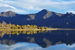 In October Lhasa River Royalty Free Stock Photo