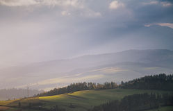October light in Tatras Stock Image