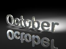 October month Royalty Free Stock Photography
