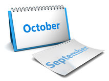 October month Royalty Free Stock Image