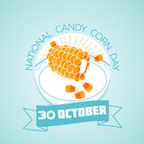30 october National Candy Corn Day Stock Photo