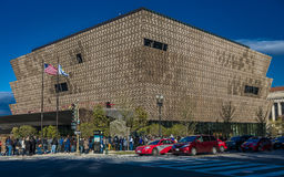OCTOBER 28, 2016 - National Museum of African American History and Culture, Washington DC, near the Washington Monument Royalty Free Stock Photo