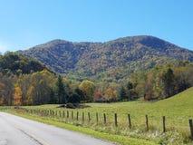 October  in North Carolina  mountains Royalty Free Stock Photos