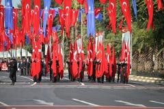 29 October Republic Day celebration in 2017 Stock Photo