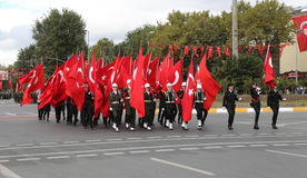 29 October Republic Day celebration of Turkey Stock Images