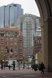 October 24, 2014 - Rowes Wharf, Boston Massachusetts, Stock Images