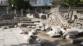 October 09, 2013, Sandanski, Bulgaria, Early Christian complex stock video
