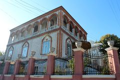 Gipsy house, street view Royalty Free Stock Photography