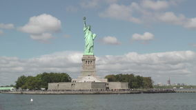 October 2016 Statue of Liberty stock video