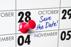 October 28 Royalty Free Stock Image