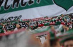 Lotto Ekstraklasa Legia Warszawa - Lech Poznan. 16 OCTOBER 2018 - WARSAW, POLAND: Polish Extra League LOTTO Ekstraklasa football match Legia Warszawa - Lech Stock Image
