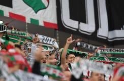 Lotto Ekstraklasa Legia Warszawa - Lech Poznan. 16 OCTOBER 2018 - WARSAW, POLAND: Polish Extra League LOTTO Ekstraklasa football match Legia Warszawa - Lech Stock Images