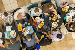 October 2, 2014: Washington, DC - interior view of people travel Stock Photography