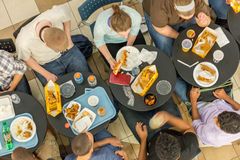 October 2, 2014: Washington, DC - interior view of people travel Stock Photo
