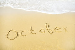 October Royalty Free Stock Image