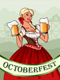 Octoberfest Obraz Royalty Free
