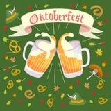 Octoberfest ilustracja Obraz Stock