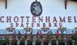 Octoberfest a Monaco di Baviera Immagine Stock