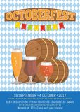 Octoberfest Oktoberfest Promotional Poster Vector Royalty Free Stock Photos