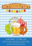 Octoberfest Oktoberfest Promotional Poster Vector Stock Photography
