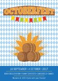 Octoberfest Oktoberfest Promotional Poster Vector Stock Images