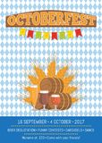 Octoberfest Oktoberfest Promotional Poster Vector Royalty Free Stock Photo
