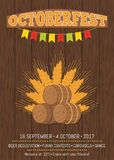 Octoberfest Oktoberfest Promotional Poster Vector Royalty Free Stock Images