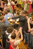 Octoberfest piwa pijący Zdjęcia Stock