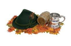 Octoberfest Satz Stockfoto