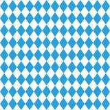Octoberfestpatroon De achtergrond van oktober München fest Ruit meest octoberfest blauw ornament Naadloos traditioneel Duits patr vector illustratie