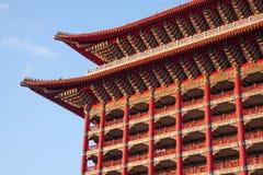 2012, octobre, 25ème - ville de Taïpeh, Taïwan : La vue extérieure d'hôtel grand Images stock