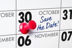 30 octobre photographie stock libre de droits