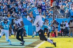 28 octobre Balitimore Ravens contre Carolina Panthers image stock