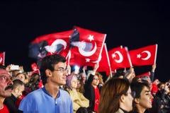 29 octobre célébration de jour de République Images libres de droits