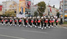 29 octobre célébration de jour de République de la Turquie Photo libre de droits